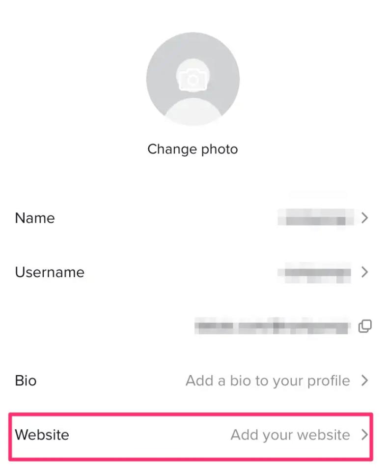 how to add link to tiktok bio